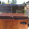 Wind barriers for your hot tub