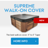 Hot Tub Covers Canada Supreme Walk-On Cover
