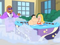 American Dad Warms up Season 7 in the Hot Tub