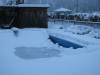Winterized Pool Cover Maintenance