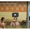 Soaking in a Beer-Filled Hot Tub