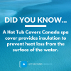 Hot Tub Covers are Energy Saving Accessories