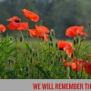 We Support Our Troops – Remembrance Day 2016