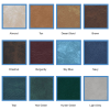 Colours May Vary – Order Hot Tub Covers Canada Vinyl Swatches