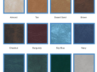 Vinyl Colour Swatches Available Before You Buy