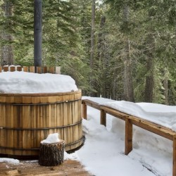 winter hot tubs