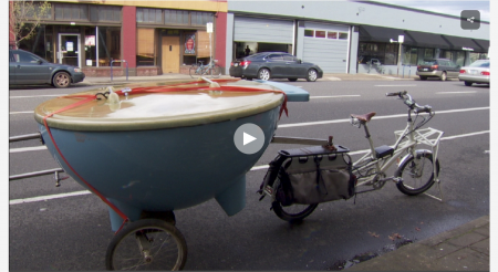 portable hot tub bike