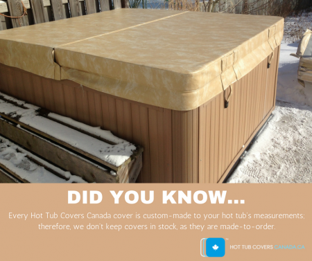 hot tub covers canada made to order