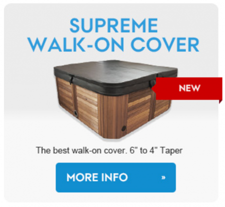 supreme walk on cover hot tub canada