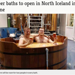 Beer Baths