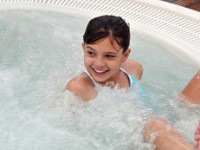 Children and hot tubs: How young is too young?