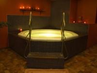 Hot tub lightshow!