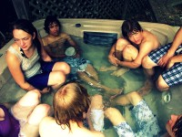 Harry Styles Spotted Partying in Hot Tub After Taylor Swift Breakup