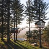 Cinder Cone – The treehouse with a hot tub and skate park