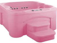 HotSprings World Creates Pink Hot Tub