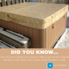 Canadian-Made Oversized Hot Tub and Swim Spa Covers