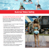 Summer Water Safety
