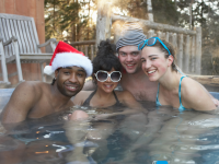Holiday Hot Tub Gatherings