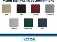 Vision Tech Fabric Colours
