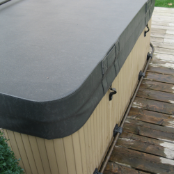 caring for a replacement hot tub cover