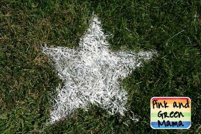 lawn stars for hot tub party