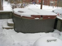 prepare hot tub for winter months