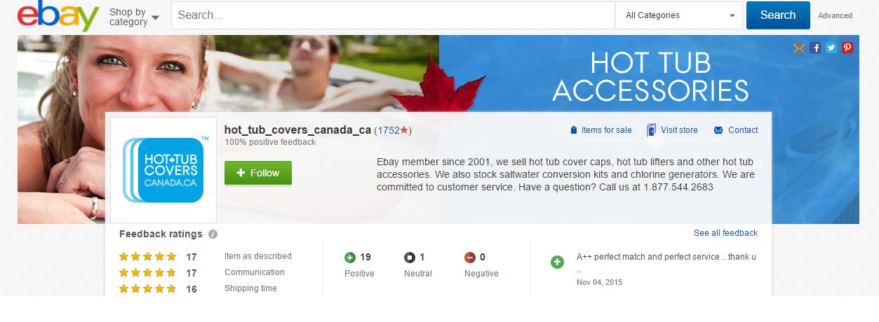 Hot Tub Covers Canada eBay