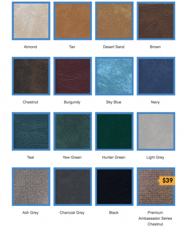 hot tub covers canada vinyl colour swatches