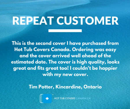hot tub covers canada repeat hot tub cover customer
