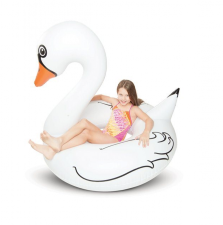 Giant Swan Pool Float on Sale