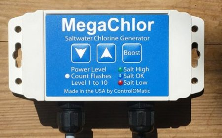 megachlor DO saltwater chllorine generator